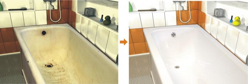 Как отреставрировать ванну - восстановление конструкции и поверхности своими руками (85 фото)