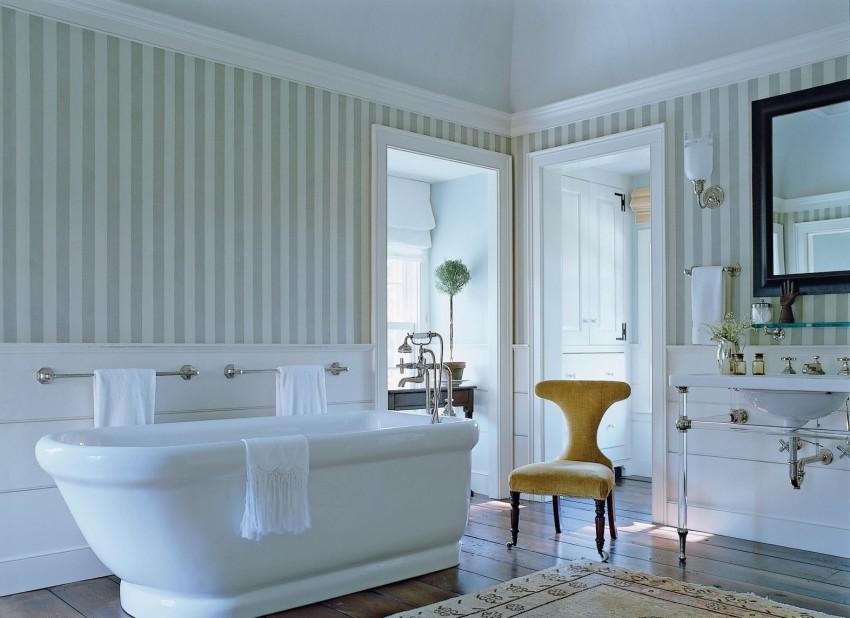 Проект ванной комнаты - современный дизайн и особенности распределения места (110 фото)
