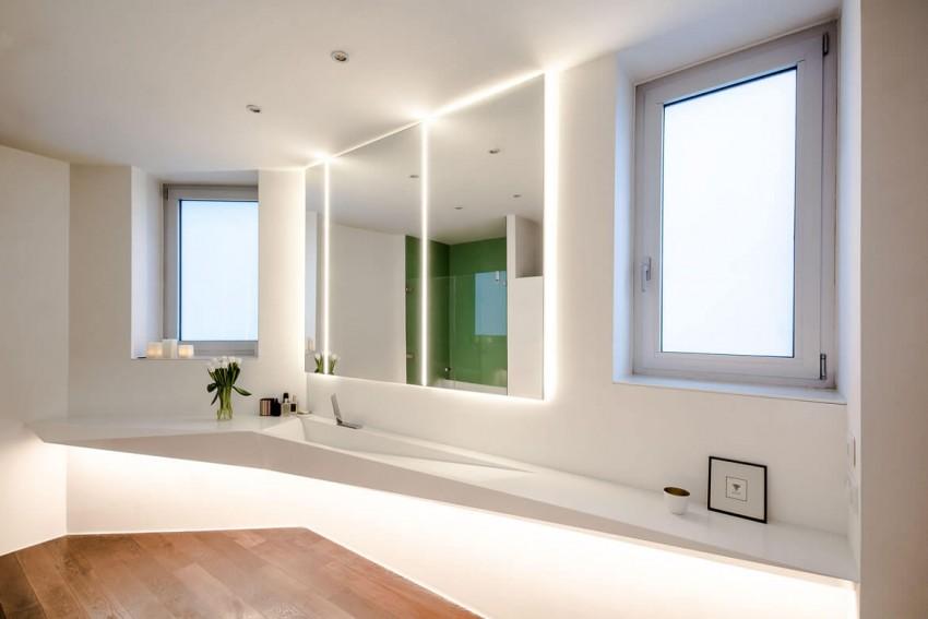 Белая ванная комната: особенности стильного дизайна и современного оформления (120 фото)