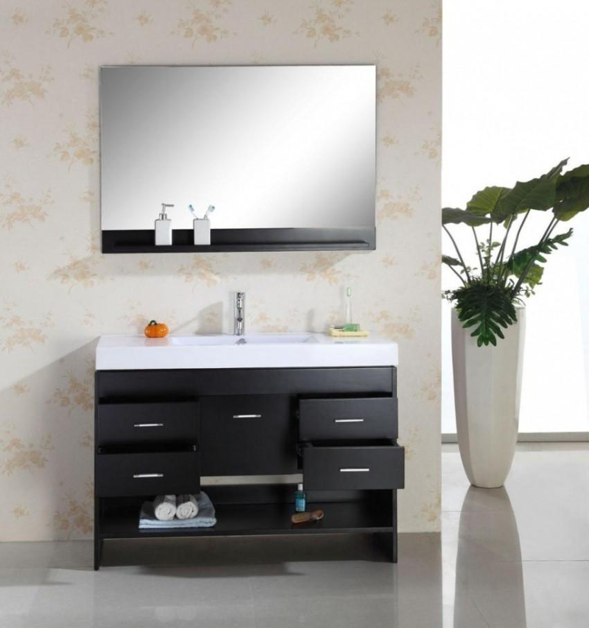 Бежевая ванная: основные достоинства и и недостатки, подбор сочетаний и дизайна (105 фото)