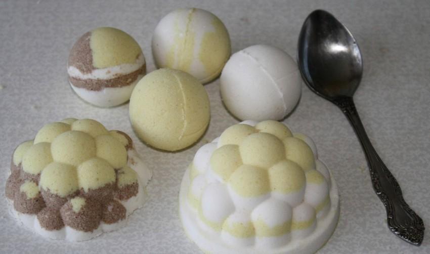 Бомбочки для ванной - рецепт приготовления своими руками и варианты применения (65 фото)
