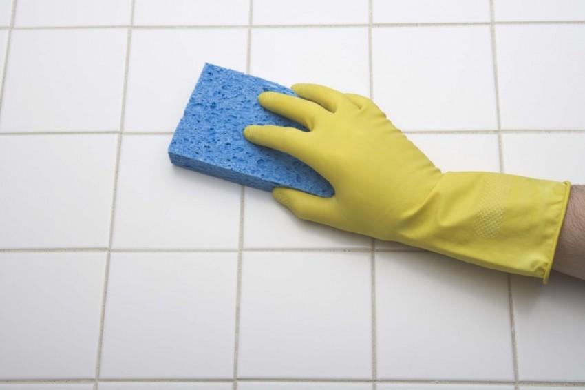Чем мыть плитку в ванной - лучшие идеи по уходу и очистке самых популярных вариантов плиток (85 фото)