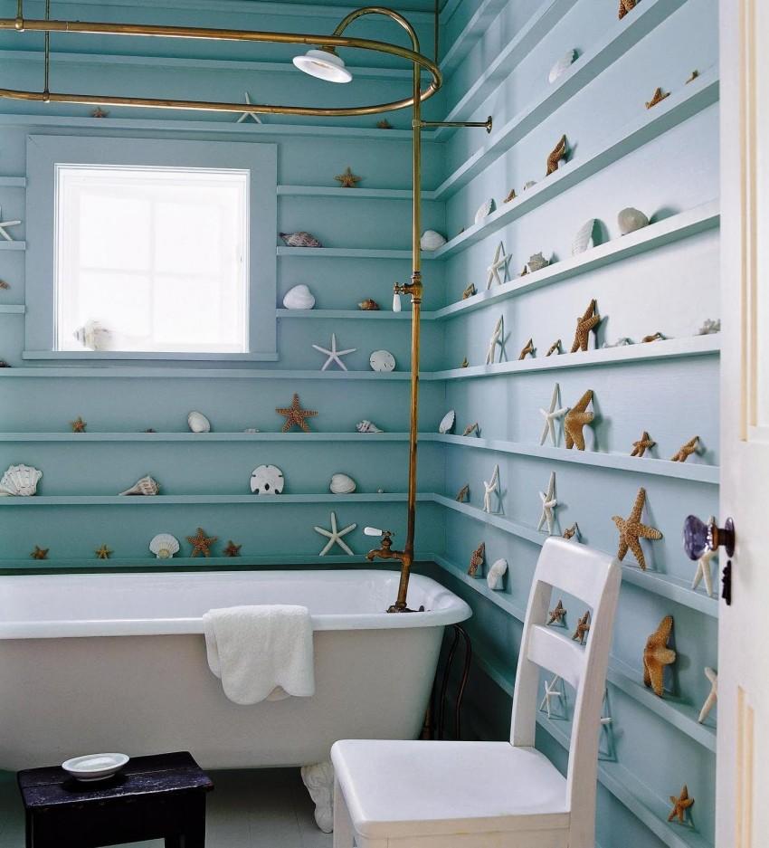 Декор ванной - 130 фото современны, оригинальных и типовых проектов
