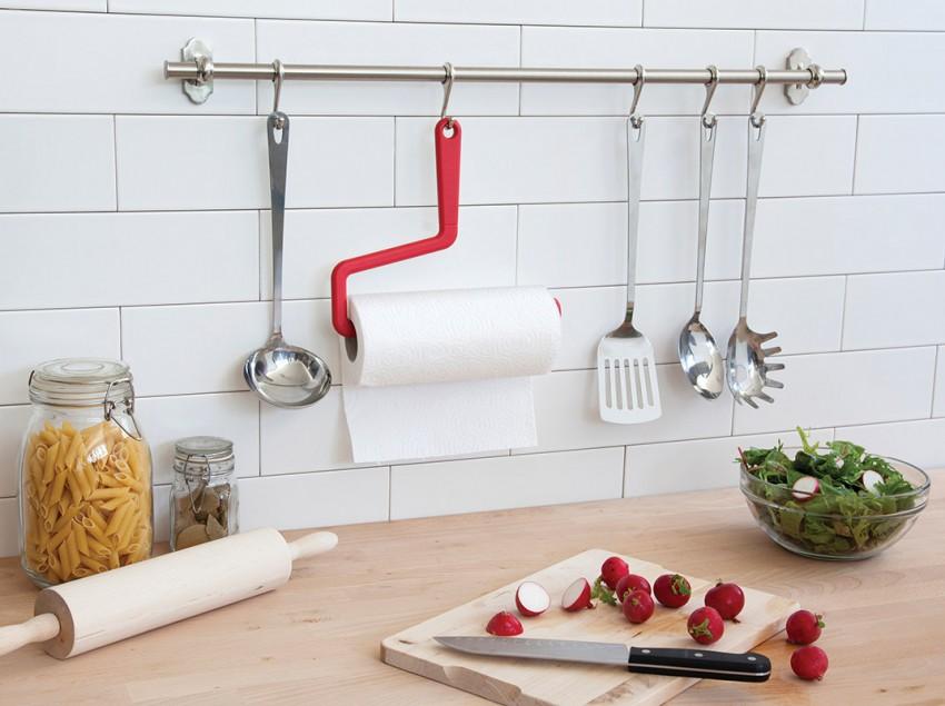 Держатель для бумажных полотенец - лучшие настенные конструкции и современные дизайнерские решения (75 фото)