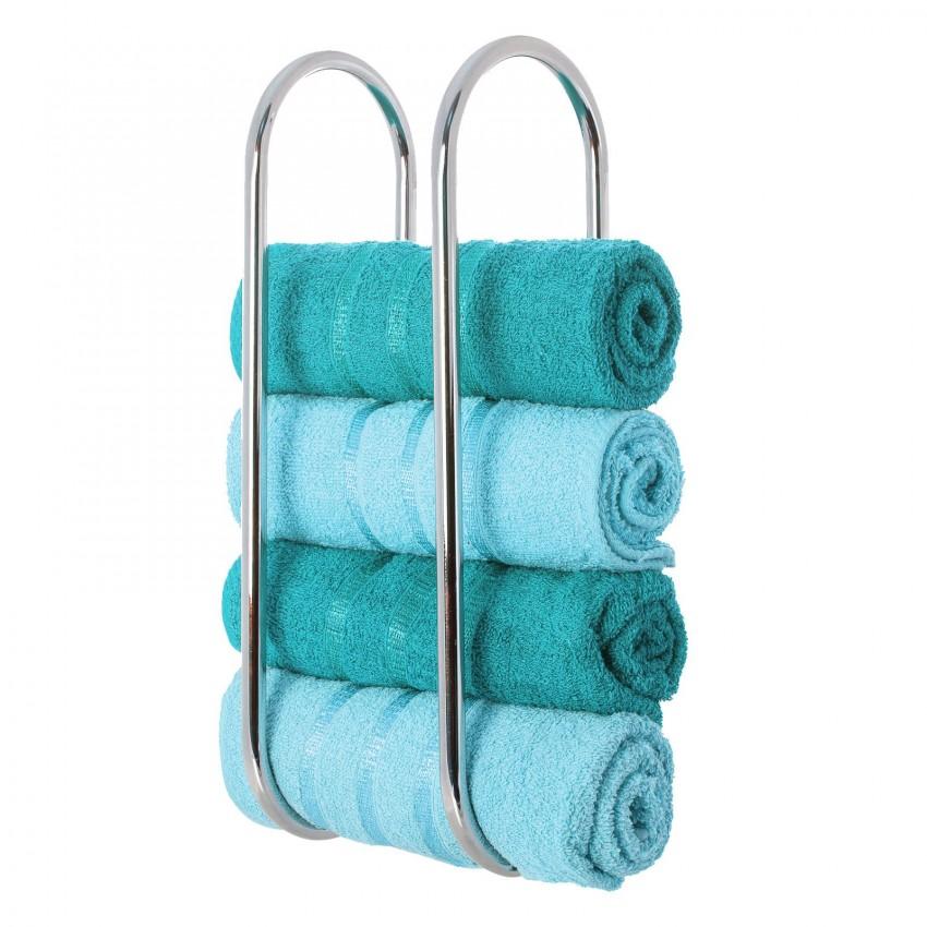 Держатель для полотенец - подбор и установка лучших современных аксессуаров для ванной комнаты (110 фото)
