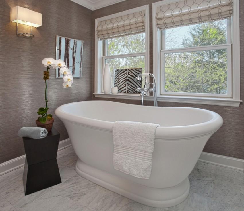 Известковый налет в ванной: эффективные методы избавления от налета на различных поверхностях (85 фото)