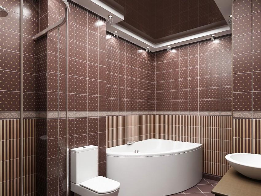 Керамическая плитка для ванной - особенности подбора керамики и ее укладки. 105 фото лучших идей применения плитки