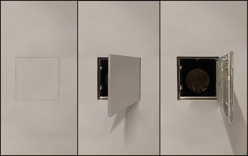 Люк для ванной - виды, методы установки и особенности размещения (95 фото)