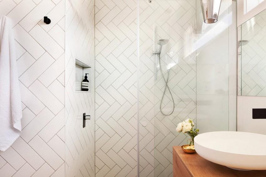 Модная плитка для ванной - подбор оптимальных тенденций и лучшие примеры их применения (130 фото)