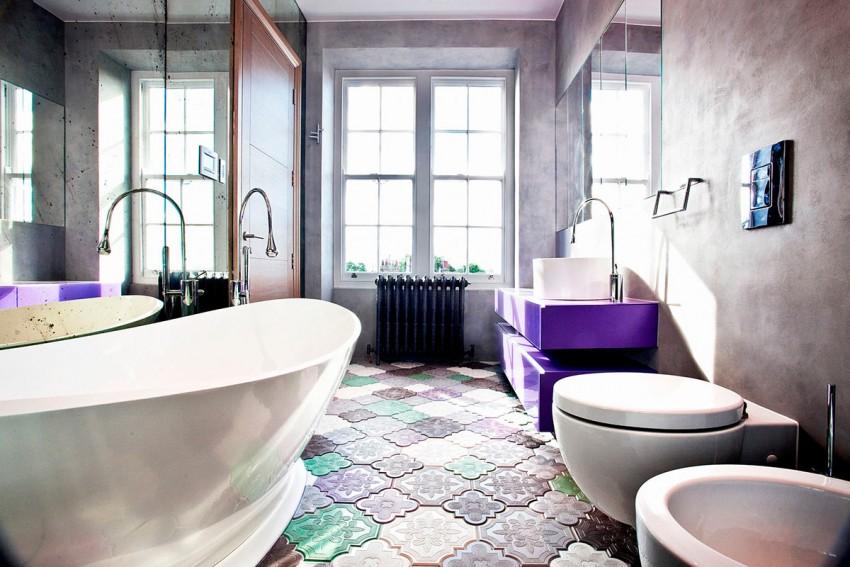 Модная ванная - современные тенденции и лучшие идеи интерьера. 115 фото стильных примеров