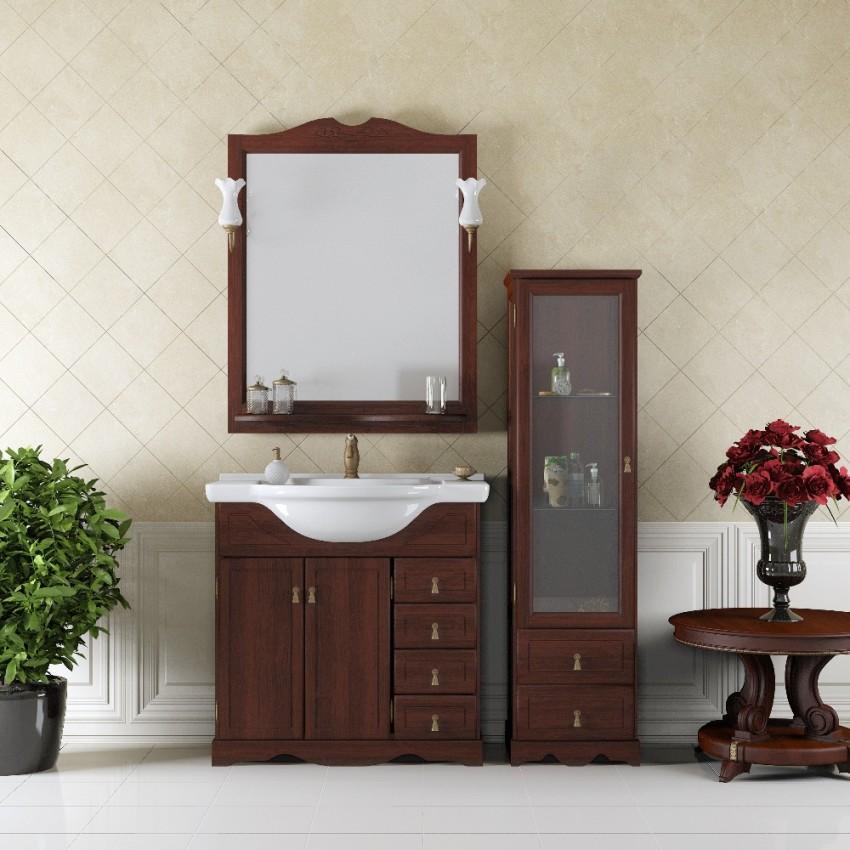 Мойдодыр для ванной - 75 фото подбора универсального комплекта мебели