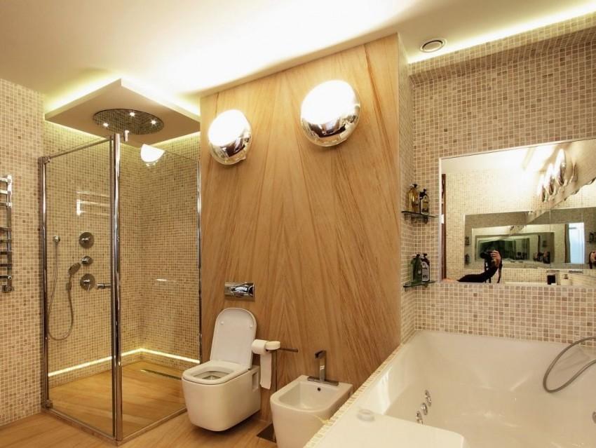 Панели для ванной - 10 достойных вариантов! Обзор новинок и современного дизайна для ванной комнаты (75 фото)