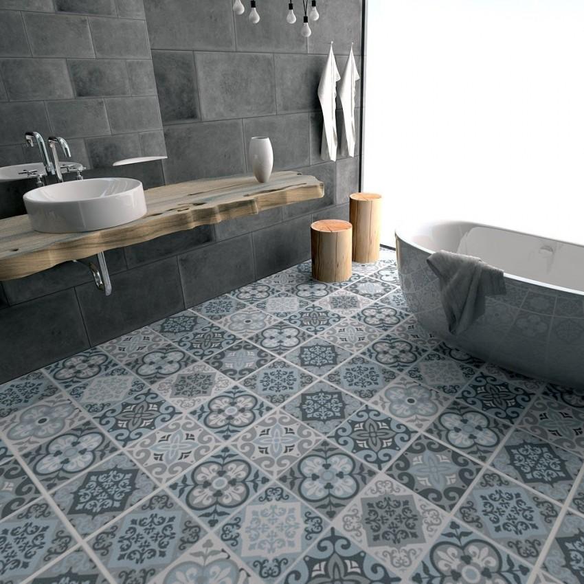 Пол в ванной: правила и особенности оформления современных напольных покрытий (140 фото-идей)
