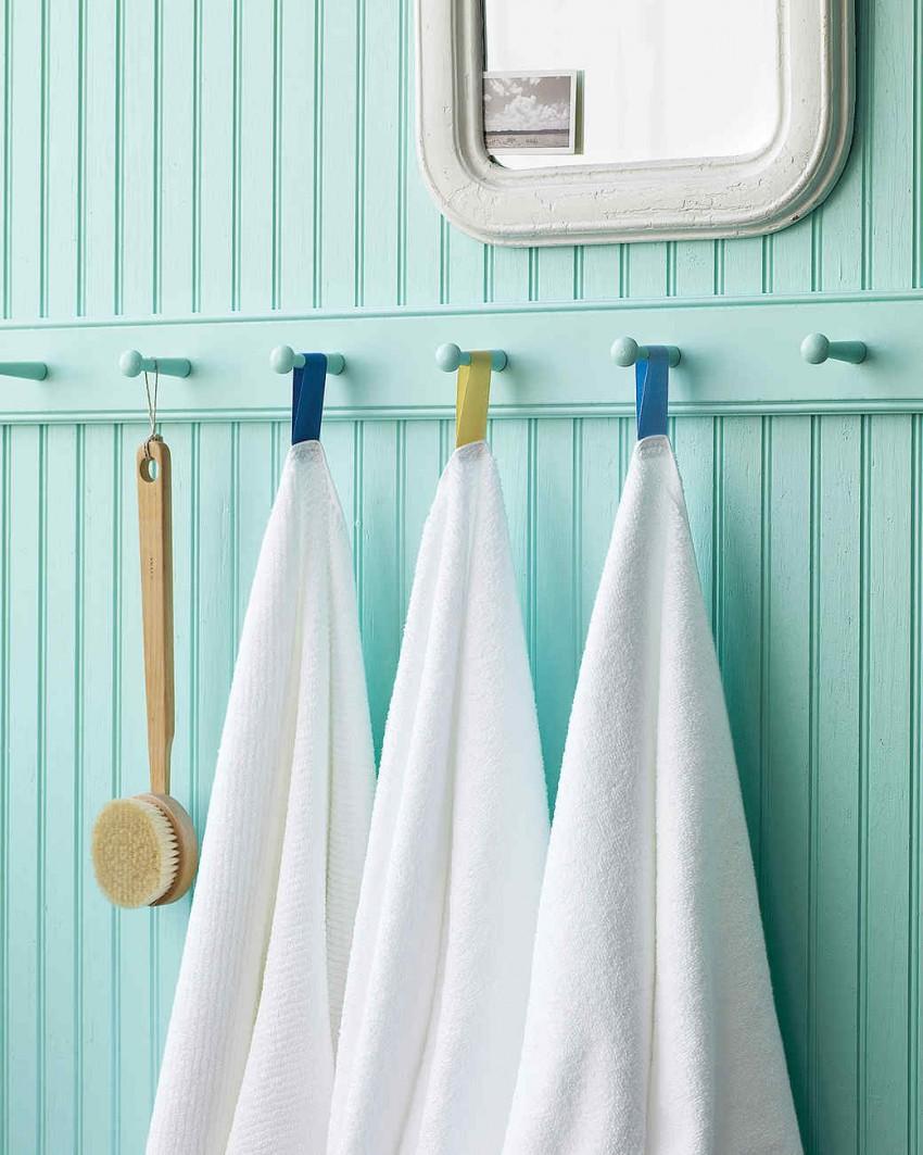 Полотенце для ванной: подбор цвета, правила выбора и лучшие идеи хранения (70 фото)