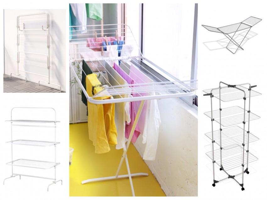 Потолочные сушилки для белья: оптимальные модели, советы по подбору размеров и лучших экземпляров (120 фото)