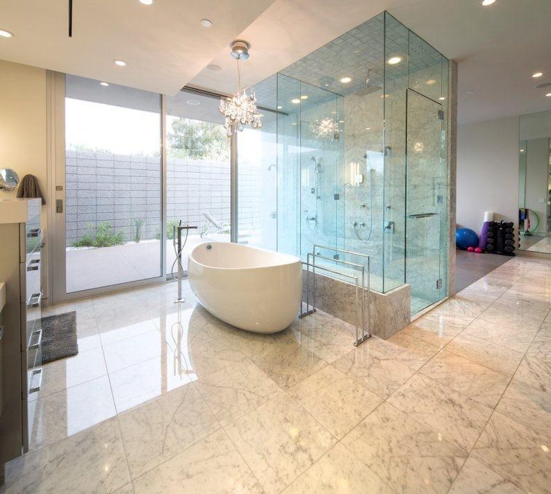 Потолок в ванной: общие рекомендации по подбору конструкций и материалов (140 фото)