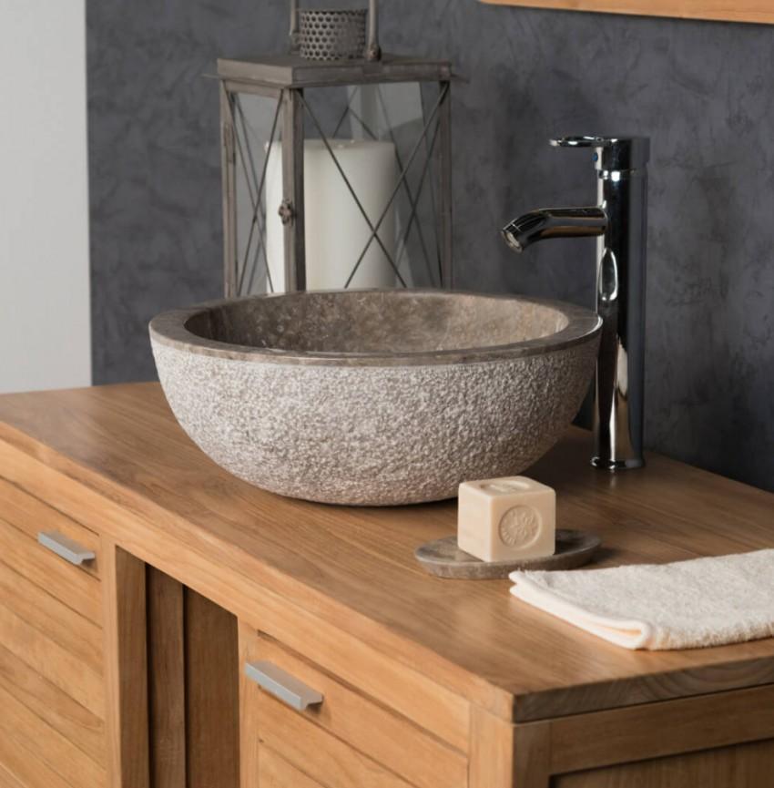 Раковина из камня - инструкция по созданию, обработке и установке раковин из натурального камня (145 фото)