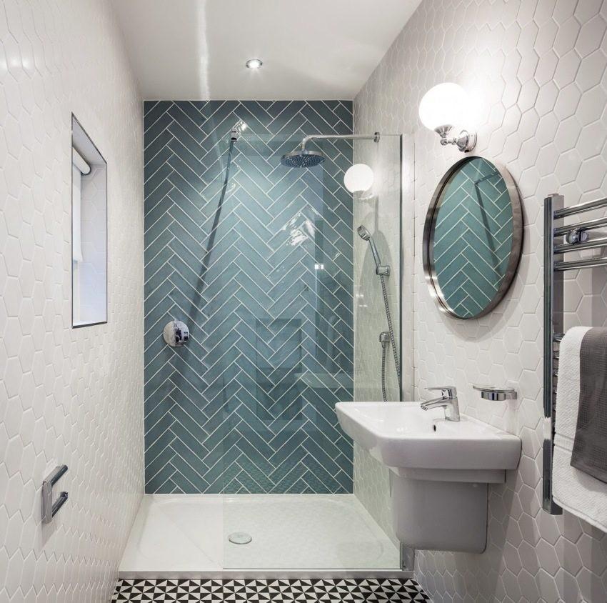 Размеры ванной комнаты - строительные стандарты и подбор оптимального размера (135 фото)