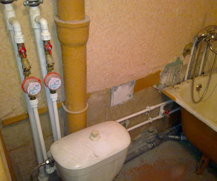 Разводка в ванной - проектирование и укладка коммуникаций. 130 фото проведения труб и электричества в ванной комнате