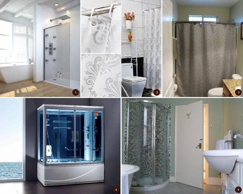 Шторка для ванной: выбор и установка современных конструкций. 100 фото лучших вариантов