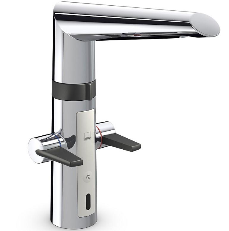Сенсорный смеситель - установка и особенности использования бесконтактных и сенсорных моделей (115 фото)