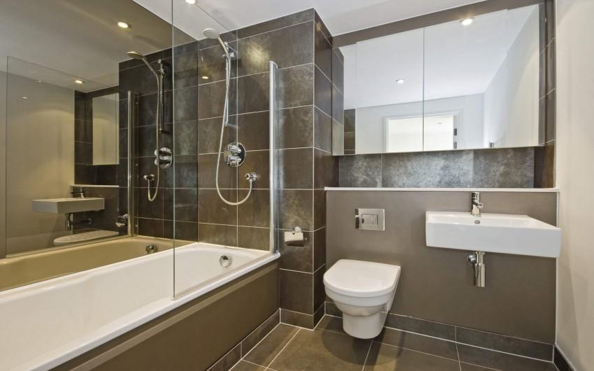 Стекло для ванной: шторки, дверцы, экраны и методы использования каленого стекла (100 фото)