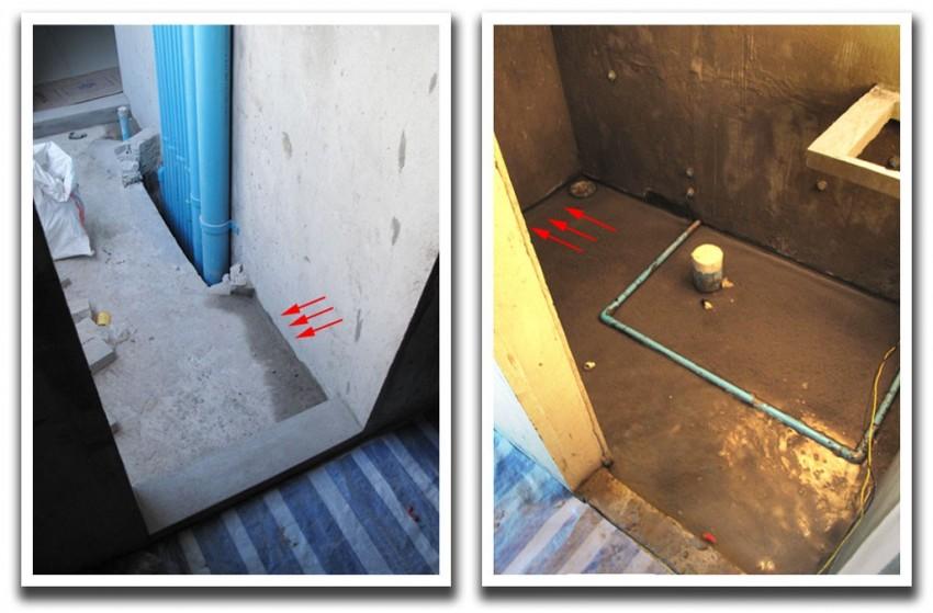 Стяжка пола в ванной - 130 фото методов выравнивания и укрепления поверхности