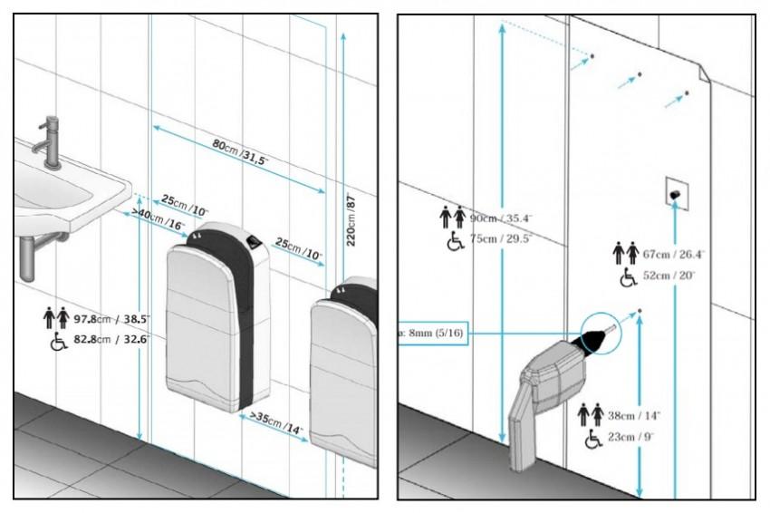 Сушилка для рук: описание, правила применения и основные виды устройств (105 фото)