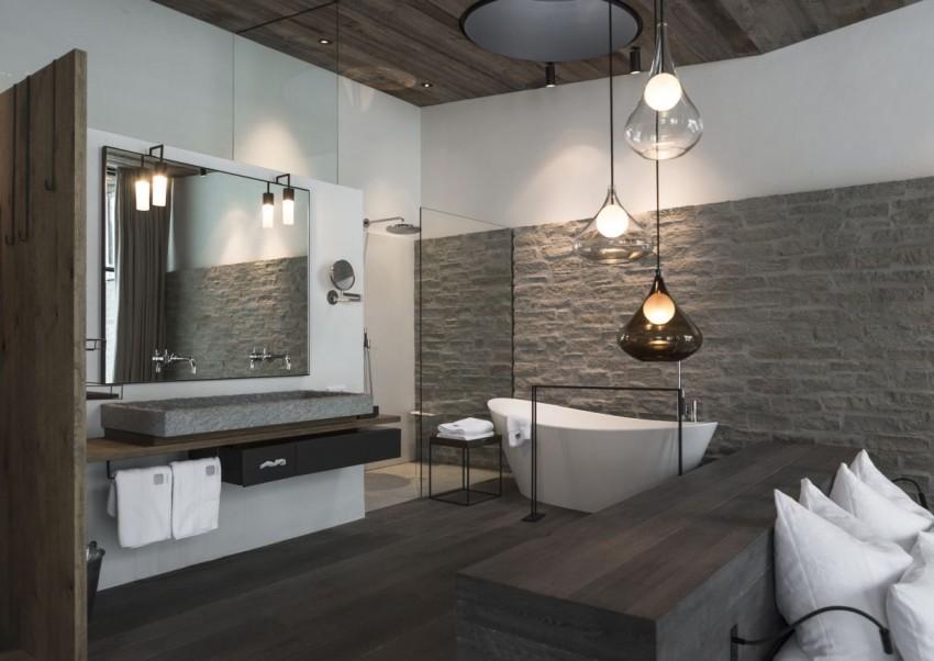Светильники для ванной: лучшие стильные идеи. 130 фото влагозащитных источников света