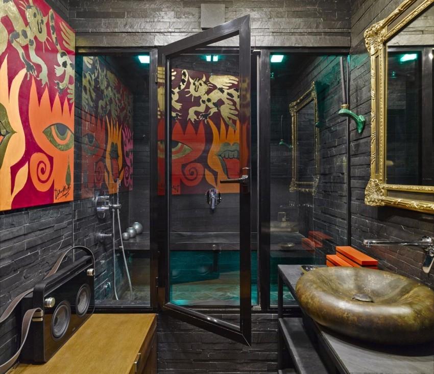 Темная ванная - 145 фото примеров красивого интерьера. Лучшие идеи дизайна сезона 2018 года