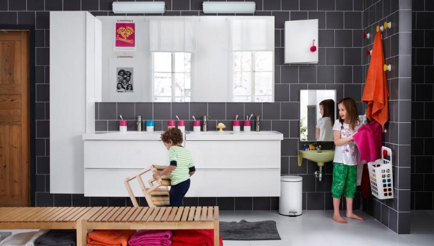 Ванная ИКЕА - обзор моделей и формирование единого стиля. 100 фото ванн из последних каталогов