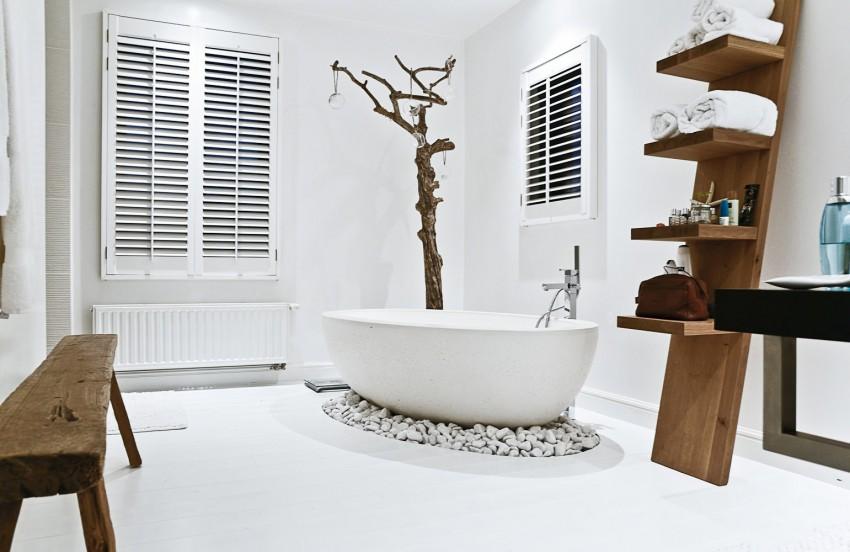 Ванная в современном стиле: описание оптимальных интерьеров. 105 фото лучших идей интерьеров