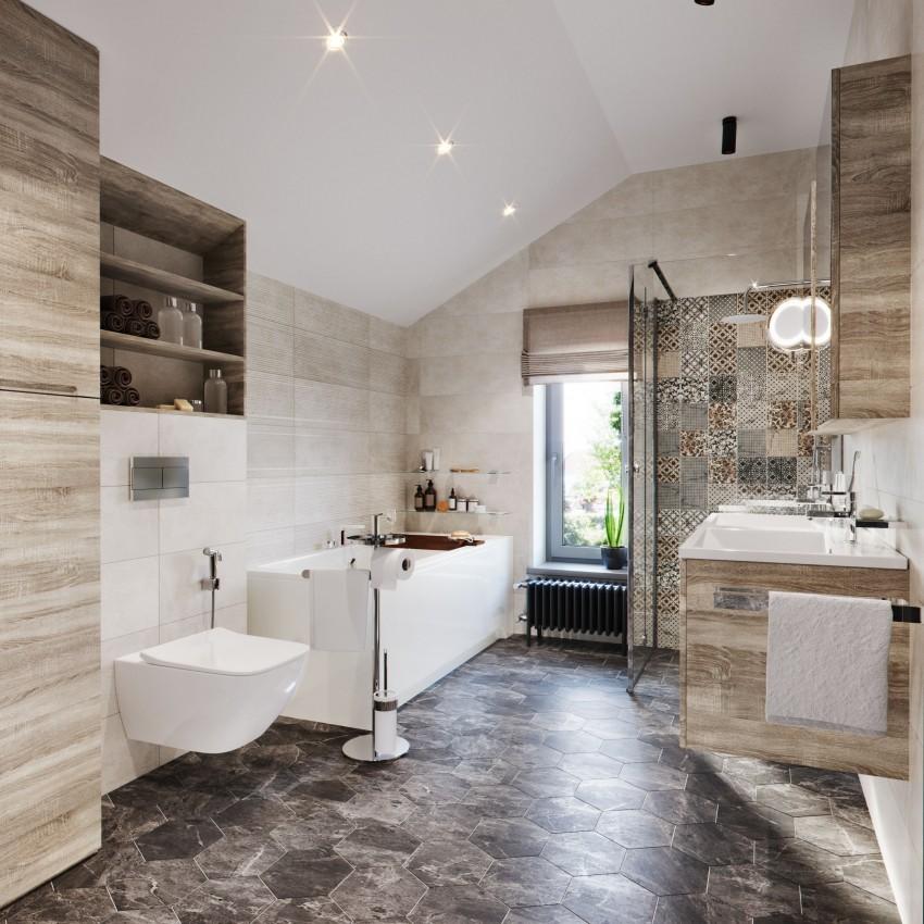 Ванная в стиле лофт: советы по созданию эффективного дизайна. 105 фото современного стиля