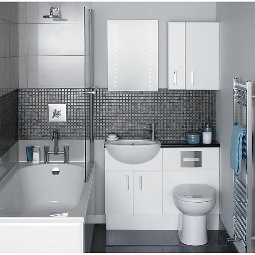 Встроенная мебель для ванной - как выбрать современную водостойкую и стильную мебель (120 фото)