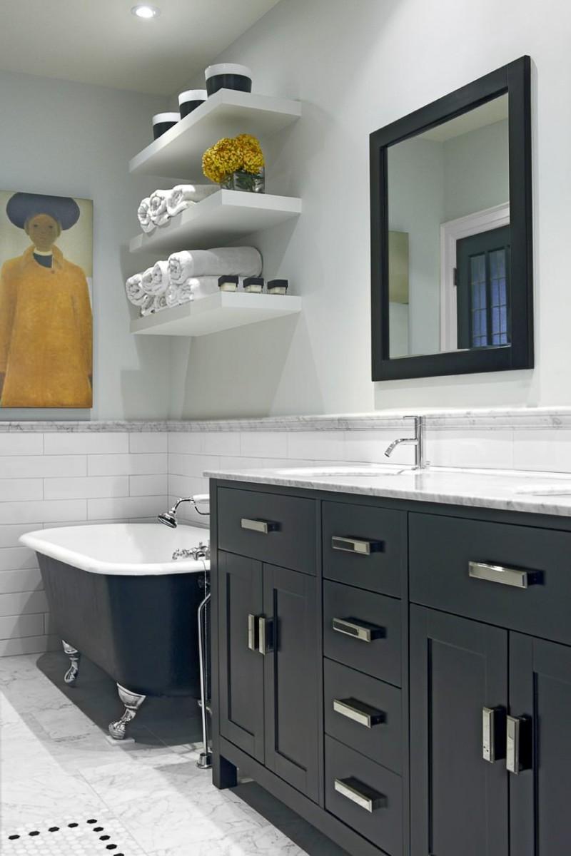 встроенная мебель для ванной 120 фото создания особого облика