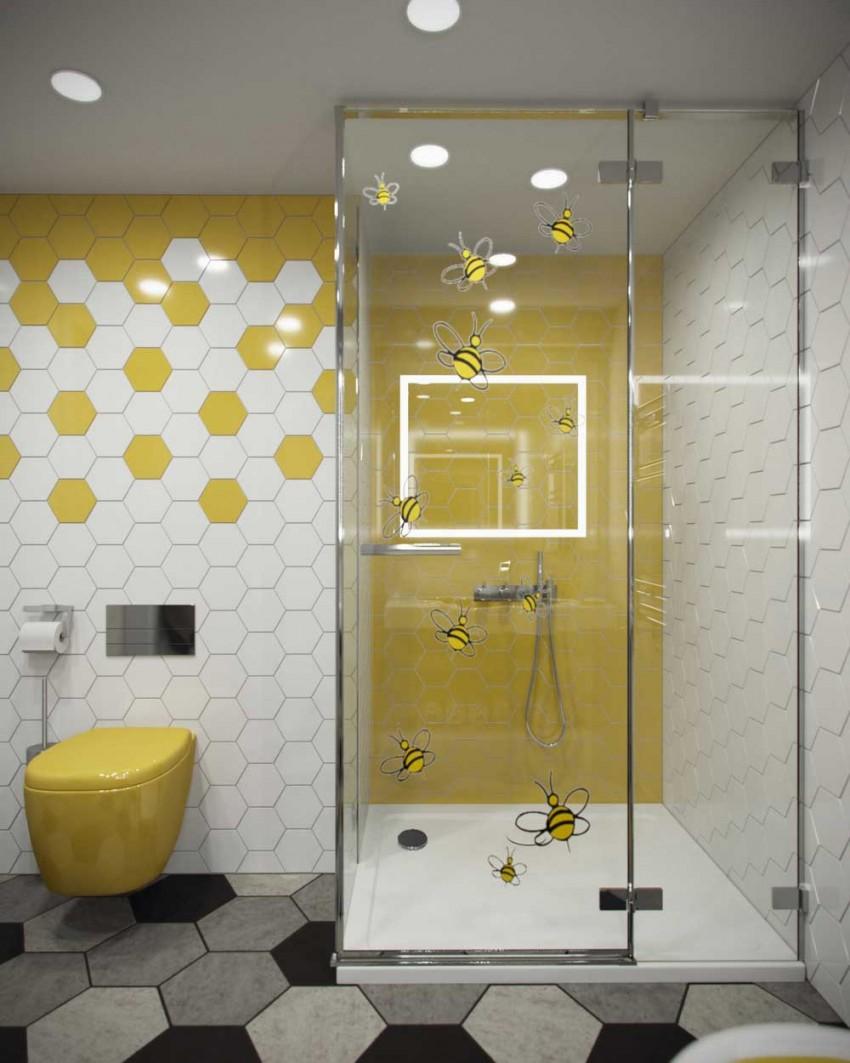 желтая ванная комната 110 фото идеальных решений и проектов