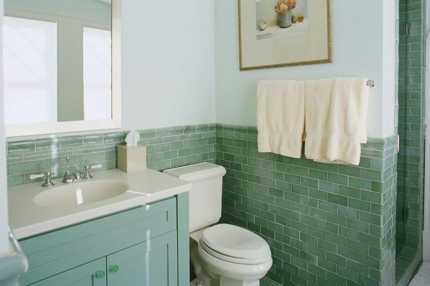 Зеленая ванная - 140 фото лучших идей интерьера и оптимальных проектов