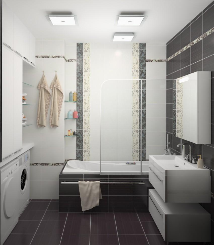 Ванная в деревянном доме - особенности отделочных работ и варианты обработки древесины (125 фото)