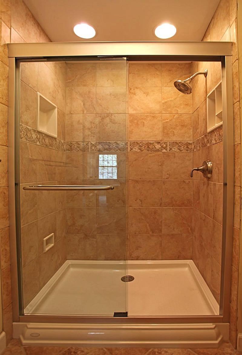 душевая кабина в маленькой ванной фото