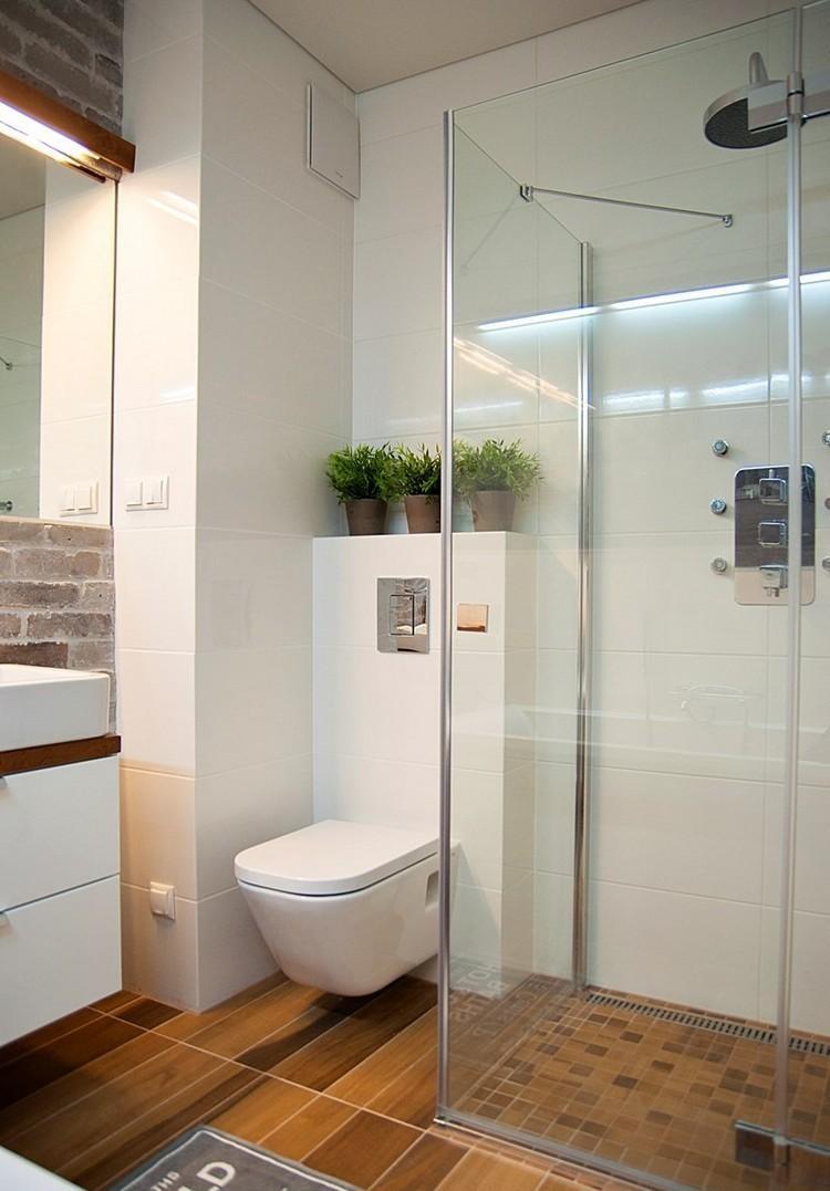 душевая кабина в малогабаритной ванной фото