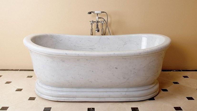 ванна из керамогранита