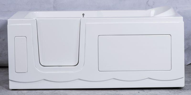 сидячая ванна с дверкой