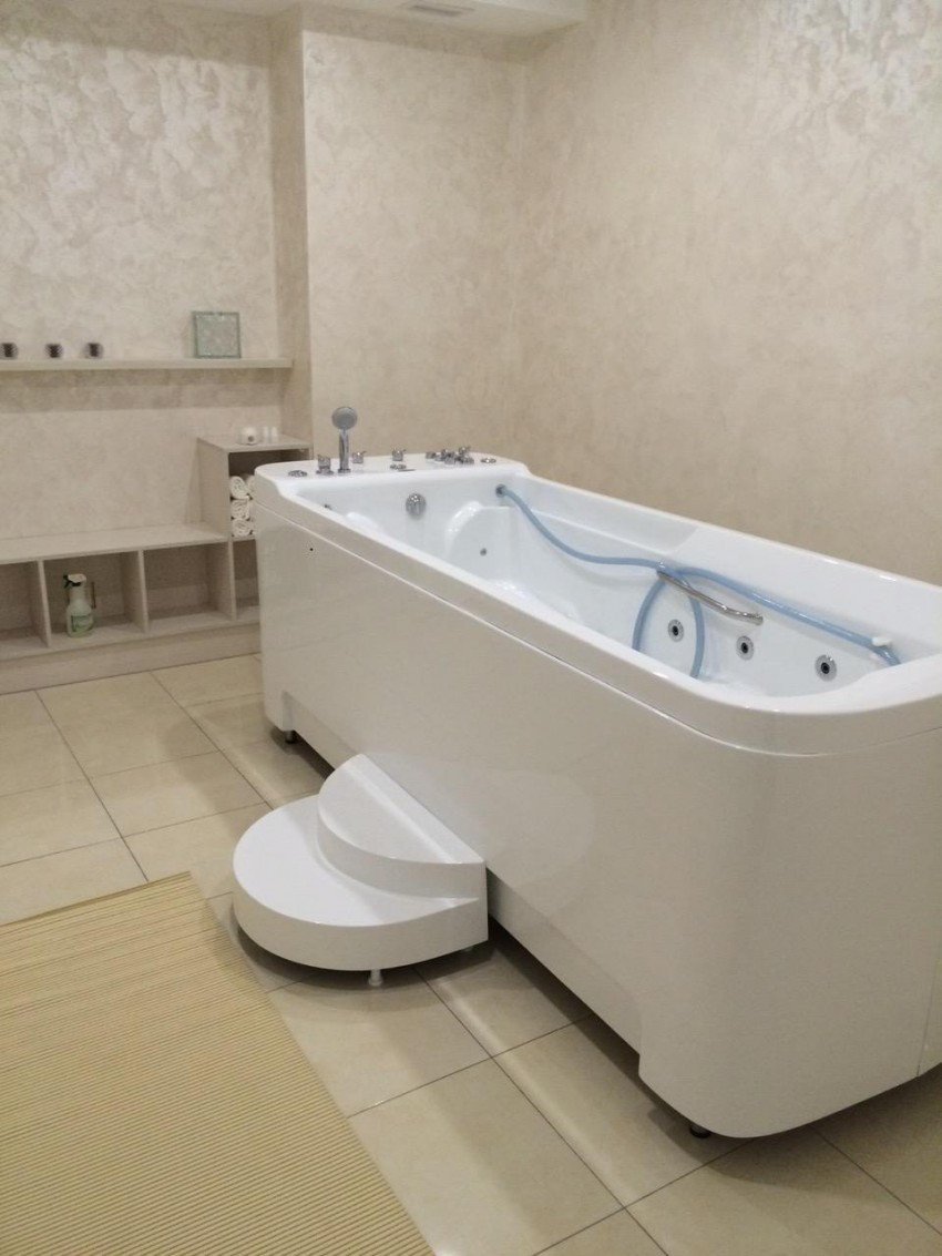 сидячая ванна с гидромассажем