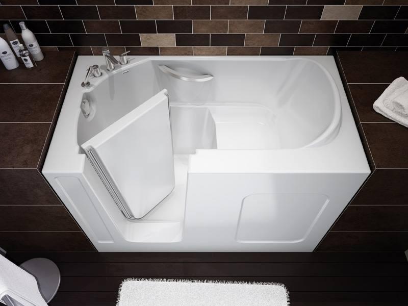 Акриловая-сидячая-ванна