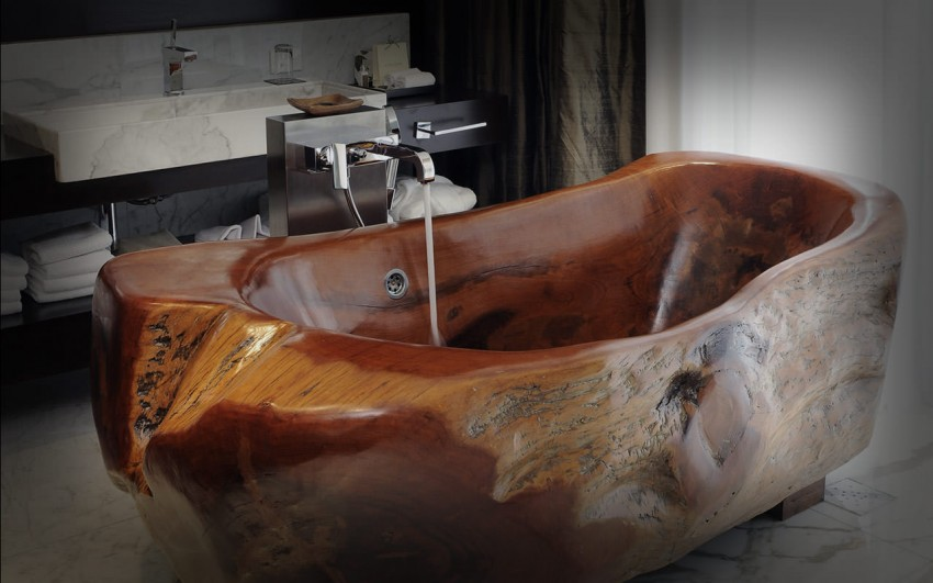 деревянная сидячая ванна