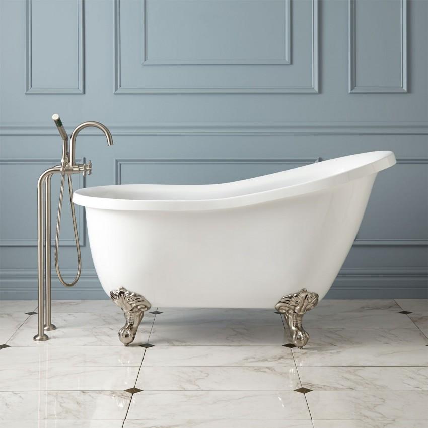 ванна из фаянса