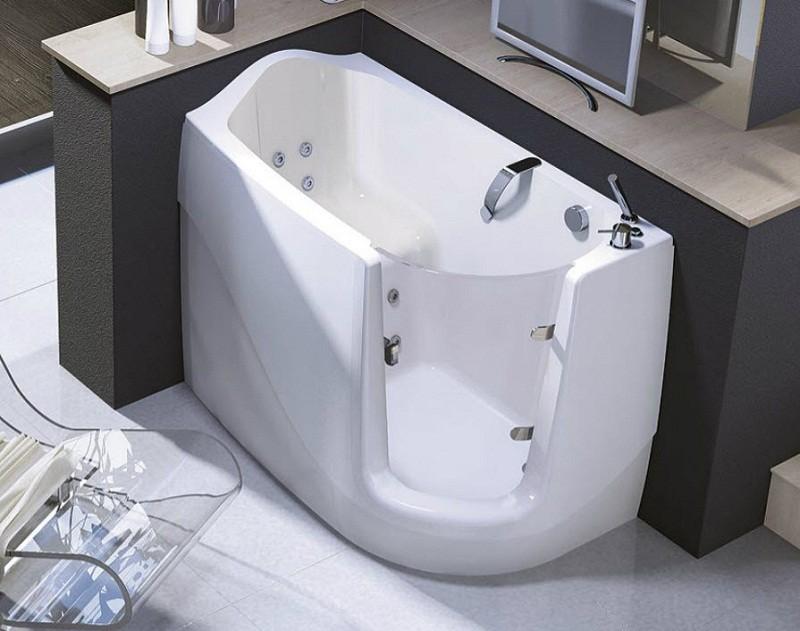 Ванна сидячая с гидромассажем