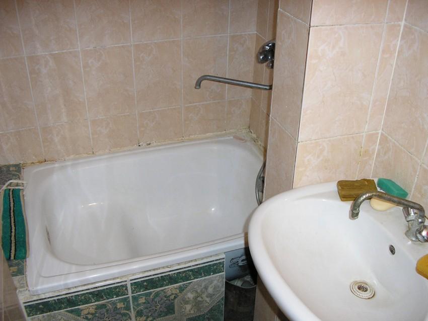 чугунные и стальные сидячие ванны
