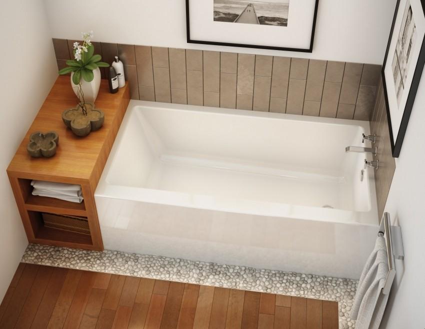 сидячая ванна для маленькой ванны